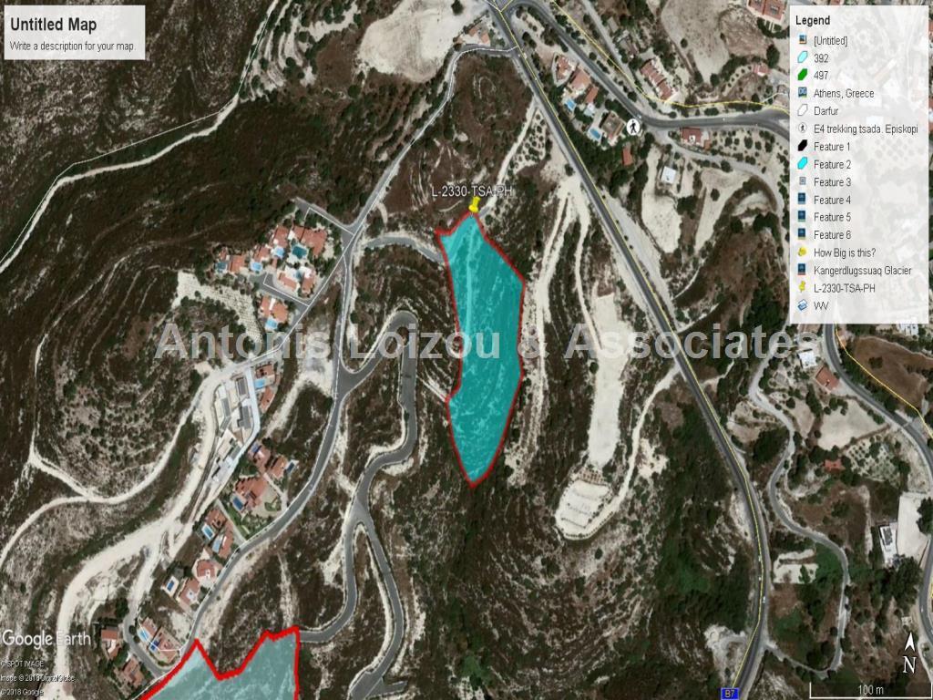 Field in Paphos (Tsada) for sale