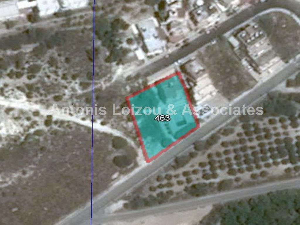 1,302 m² large plot in Yeroskipou with sea views    properties for sale in cyprus